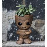 Baby Groot Maceta Guardianes De La Galaxia Dulcero - 2 Pzas