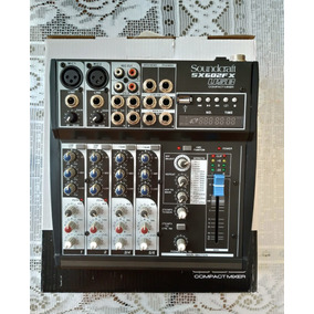 Mesa De Som Soundcraft Sx602fx Usb (6 Canais)