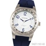 Reloj Prototype Yast1181 Acero Caucho 100m W Cristal Duro
