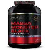 Massa Monster Black 3kg - Probiótica - Sabor Morango