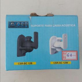 Suporte Cx Acustica Csr-sc12w 1 Par Cor Preta