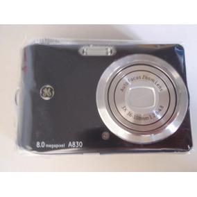 Câmera Digital Ge A830 Preta -usada Com Cartão 2gb