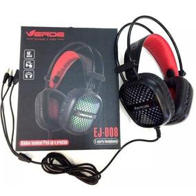 Headset Gamer Com Microfone Ej-008