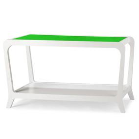 Aparador 1 Prateleira Marley Maxima Branco verde Ej por Madeira Madeira 60d5c97f48
