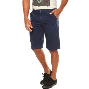 Bermuda Sarja Masculina Slim Fit Colorida C/ Lycra + Cores!