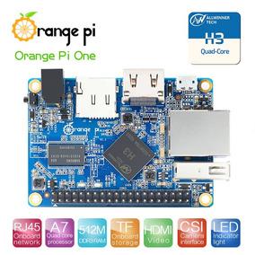 Oranje Pi One H3 Quad-core + Fonte 5v-3a + Case De Acrílico