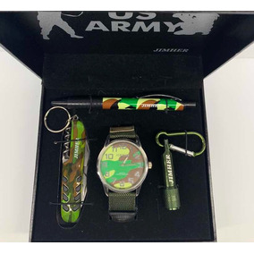 3 Estuches De Reloj *2 Estuche Army Y 1 Estuche Incredible*