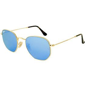 Óculos Ray Ban Rb2142 Wayfarer Azul Aste Vermelha - Óculos no ... c97a85170b