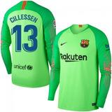 6c260e8ccb183 Camisa Goleiro Barcelona - Futebol no Mercado Livre Brasil