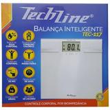 Balança Digital Corporal De Bioimpedância Techline Tec-117