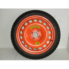Roda Com Pneu Fino Estepe 115/70r16 Onix Prisma Agile Corsa