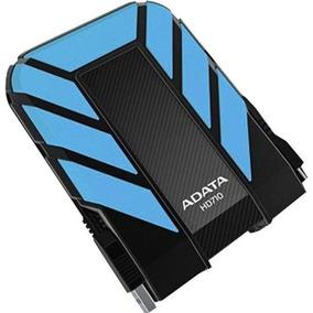 Disco Duro Externo Adata Hd710 2tb Azul Usb 3.0 Anti Golpes