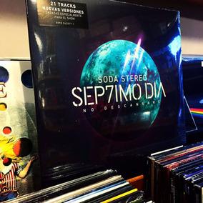 Soda Stereo Septimo Dia Vinilo Doble 2 Lp Ya En Stock