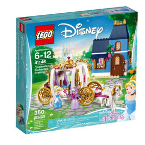 Pr Noche Encantada De Cenicienta Lego - 41146