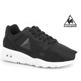 Tenis Mujer Le Coq Sportif Lcs R900 Gs Color Negro 1610592