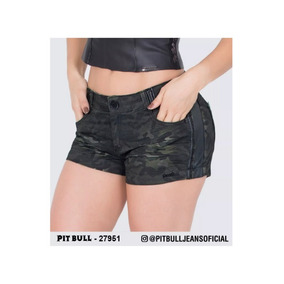 Short Feminino Pit Bull Jeans 27951 Lançamento 12/2019 Lindo