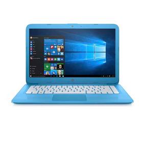 Notebook Hp Stream 14 Ax027la Azul Aqua - Mosca