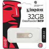 Memoria Usb 32gb Dtse9 Metalica!! Kingston!!