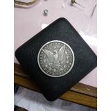 Moneda Antogua De Usa 1890 De Plata Pura