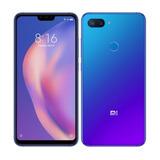 Celular Xiaomi Mi 8 Lite 128gb 6 Gb Ram Global Aurora Blue