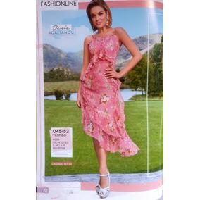 Vestido Para Dama Primavera-verano Cklass Modelo 045-52