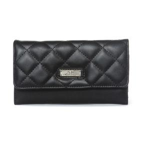 Amberes Billetera Negro Billeteras Xl Extra Large Para Mujer