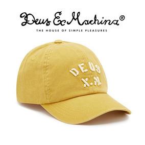 Gorra Deus Ex Machina · Marine Cap - Gold 100% Original