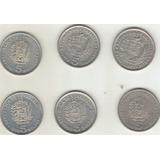 Moneda 5 Bs Niquel Año 1973,1977,1987,1988,1989,1990
