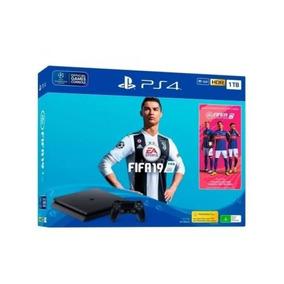Playstation 4 Sony Ps4 Slim 1tb Fifa 2019 Barato