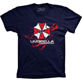 Camiseta Jogo - Resident Evil - Umbrella Corporation