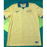 643847a436 Camisa Oficial Nike Seleção Austrália De Futebol 2014 Tam. M