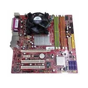 Kit Placa Mae Dual Core E2160 Ddr2 + Processador + Cooler