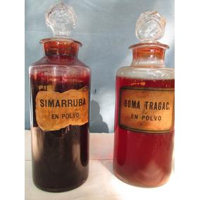 Frascos De Farmacia Antiguos. Decorativos