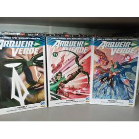 Arqueiro Verde Volumes 1, 2 E 3 Universo Dc Renascimento
