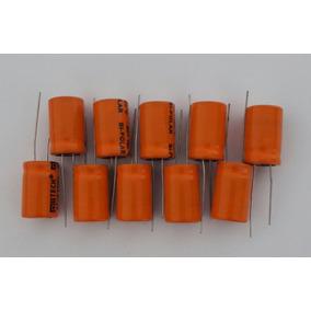 Capacitor De Corneta 47x100 Pacote Com 10 Peças