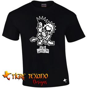 Playera Bandas Toons Sex Pistols By Tigre Texano Designs