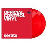 Serato Scv - Ps -red-ov Vinilo De Control Oficial 12 -inch,