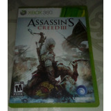 Juego Assasin Creed 3 Xbox 360 (2 Cds) Original