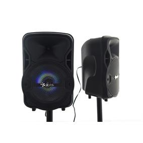 Bafles Amplificados 8 Pulgadas Bluetooth 2 Interconectados