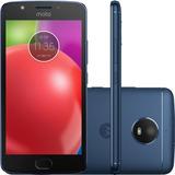 Celular Motorola Moto E4 Xt1763 Tela 5 16gb 8mp Azul Safira