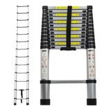 Escada Telescópica Alumínio Multifuncional 3,8 M 12 Degra
