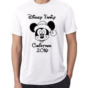 Playera Mickey Mouse Y Pato Donald Con Gorro Navideño Persnl 67a03b30389
