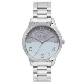 Relógio Condor Feminino Eterna Bracelete Prata