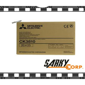 Kit Papel Mitsubishi Ck3810 Para Photo Printer Cp3800-dw