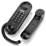 Telefone Com Fio Preto - Elgin Tcf1000