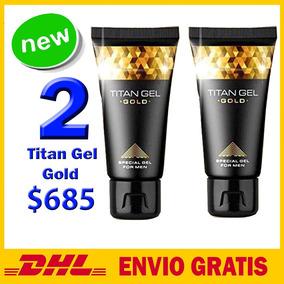 Titan Gel Gold 2x1 Vendedor Certificado Por Mercado Libre!!!
