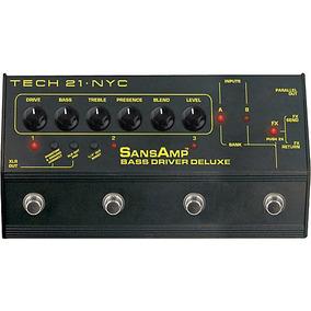 Pedal Sansamp Bass Driver Deluxe