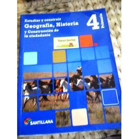 Geografia, Historia 4 Santillana Usado