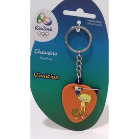 Vinicius Mascote Olimpiadas Rio 2016 Chaveiro Golfe Jogos