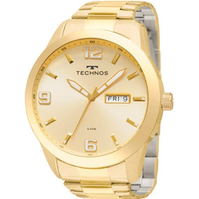 090f2fd1643 Relógio Technos Masculino Golf Dourado Original 2305af 4x